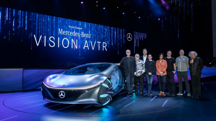 "Consumer Electronics Show (CES) 2020  Keynote: ""Sustainable Modern Luxury – Next Chapter""   Weltpremiere Mercedes-Benz VISION AVTR Consumer Electronics Show (CES) 2020  Keynote: ""Sustainable Modern Luxury – Next Chapter""   World Premiere Merce"