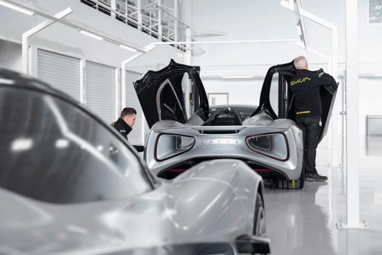 LOTUS EVIJA Assembly