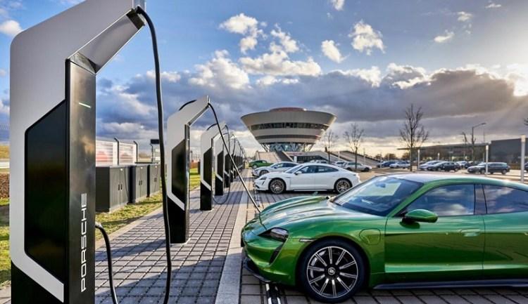 Porsche Turbo Charging, Rapid-charging park, Leipzig, 2020, Porsche AG