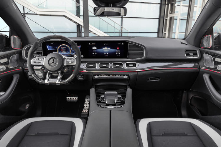 The New Elegant and Electrified Mercedes AMG GLE 63 S Coupe interior-2