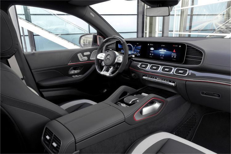 The New Elegant and Electrified Mercedes AMG GLE 63 S Coupe interior