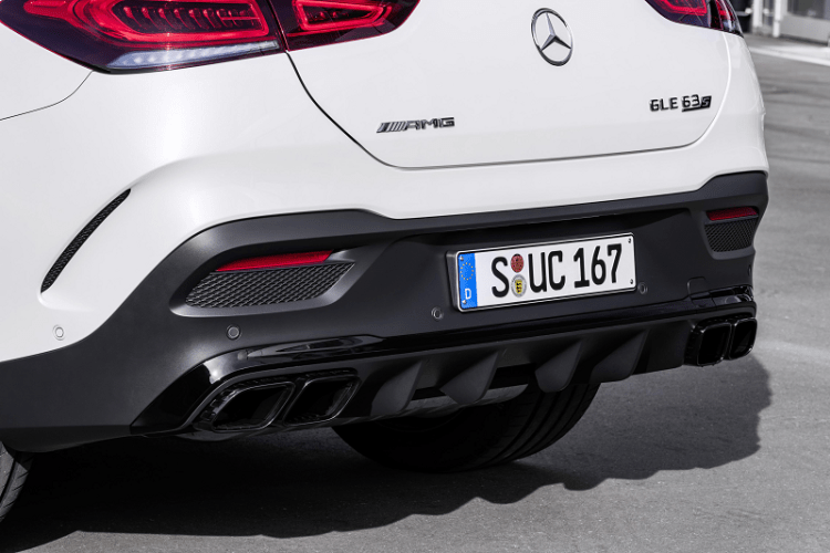 The New Elegant and Electrified Mercedes AMG GLE 63 S Coupe rear-2