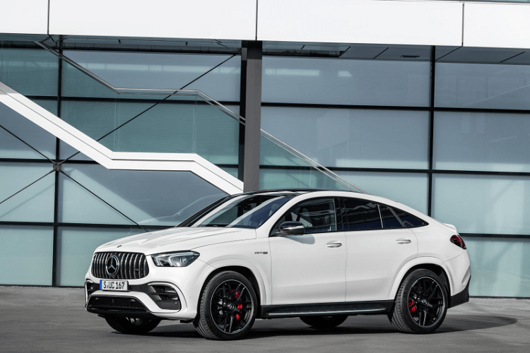 The New Elegant and Electrified Mercedes AMG GLE 63 S Coupe -side.