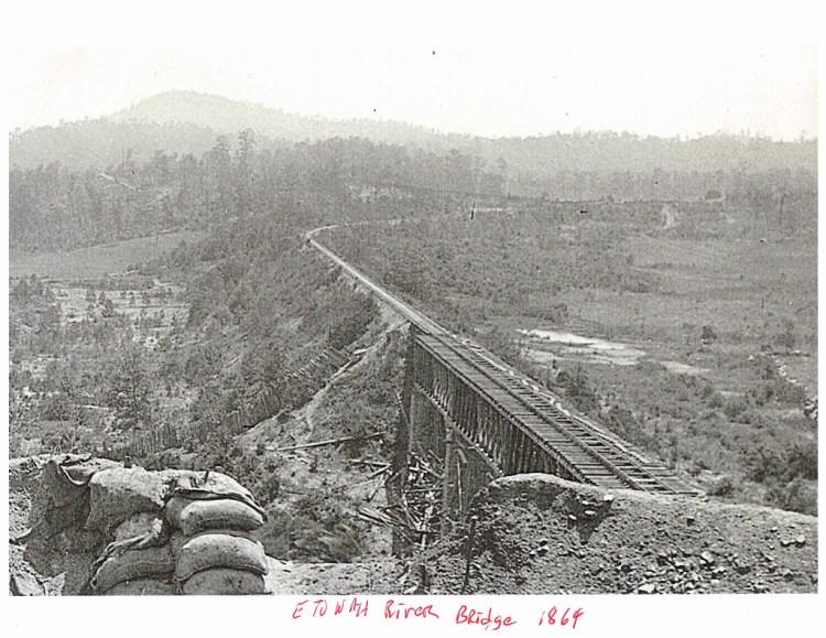 Etowah Bridge at Etowah Station