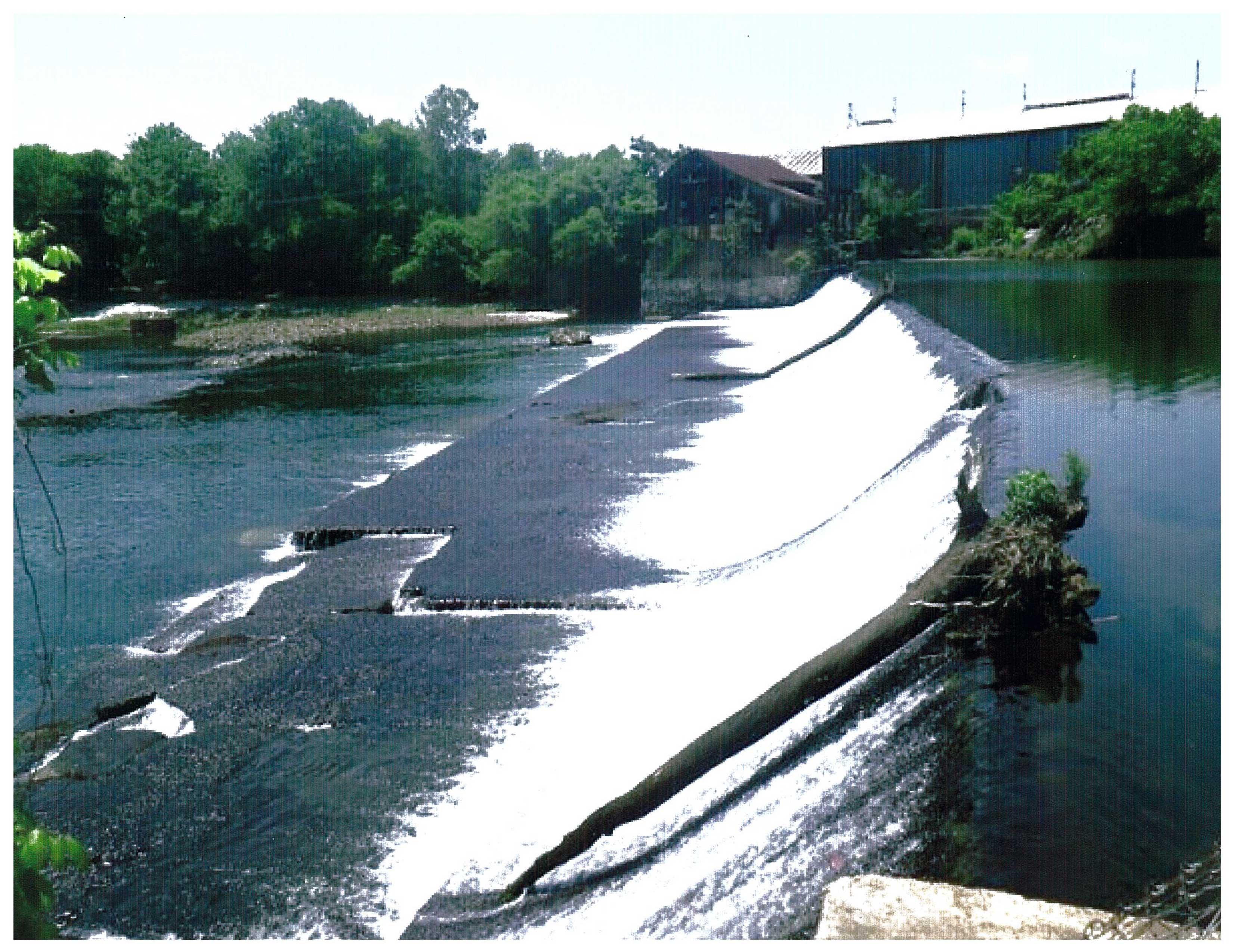 New Riverside Ochre dam