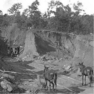 Early Mining in Emerson (photo courtesy of Georgia Archives)