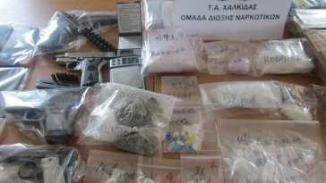 Διακίνηση Ναρκωτικών Ψαχνά, Χαλκίδα Εύβοια