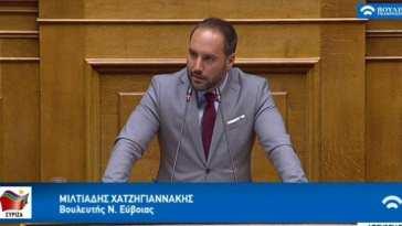 υπεύθυνος για την Τοπική Αυτοδιοίκηση του ΣΥΡΙΖΑ Προοδευτική Συμμαχία Μίλτος Χατζηγιαννάκης