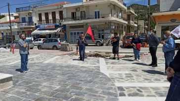 Εύβοια: Οι Κομματικές οργανώσεις ΚΚΕ κατέθεσαν γαρύφαλλα σε Αλιβέρι και Μαρμάρι