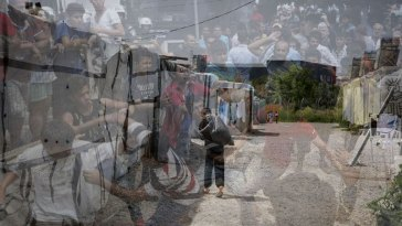 Ριτσώνα: Άγριο ξύλο στην Δομή μεταναστών το βράδυ της Παρασκευής
