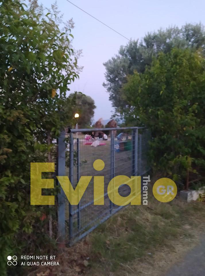 Ερέτρια Ευβοίας: 80 πρόσφυγες σε ξενοδοχείο της Περιοχής από την Κυριακή