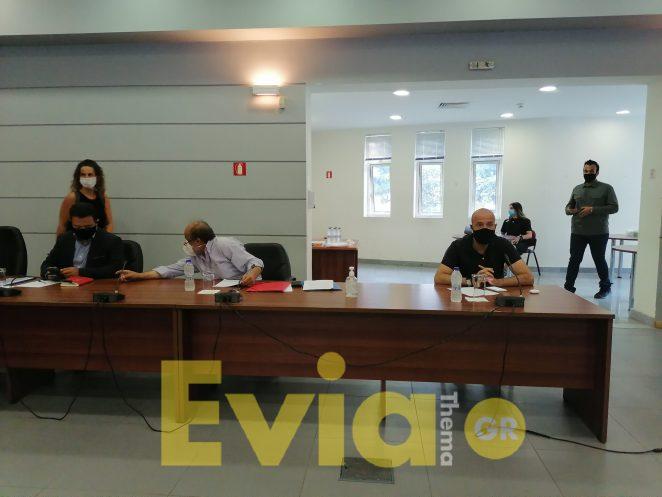 Εύβοια: Επίσκεψη του Yπουργού Αγροτικής Ανάπτυξης Μάκη Βορίδη στις πληγείσες περιοχές και ανακοίνωση μέτρων στήριξης