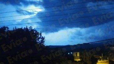 Απειλητικά πλησιάζει ο Κυκλώνας στην Εύβοια