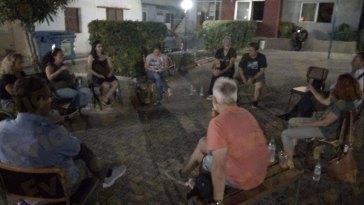 Συνάντηση επιτροπής κατοίκων καστέλλας ληλαντίου