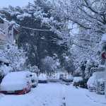 Χιόνι στην Αθήνα και την Αττική
