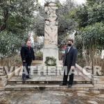 Μπαράκος Παπαδιόχος Στεφάνι 25η Μαρτίου Αλιβέρι