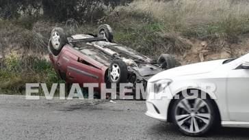 Ερέτρια Ευβοίας Τροχαίο ατύχημα 20χρονος