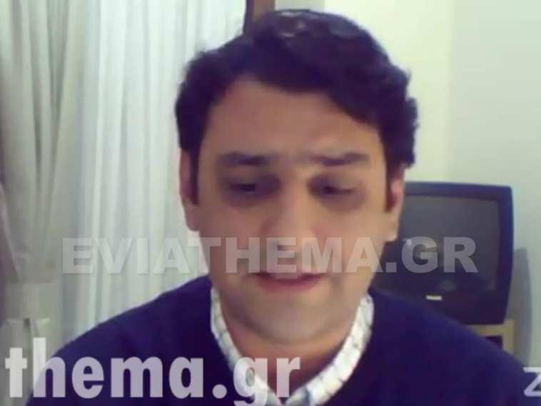 Νίκος Μπαράκος - Τηλεδιάσκεψη