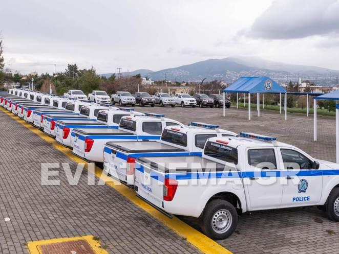 Στην άμεση ενίσχυση της Ελληνικής Αστυνομίας με 53 περιπολικά οχήματα του κορυφαίουpick-upNAVARA