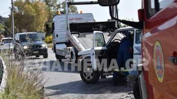 Νεκρή κατέληξε σήμερα Τρίτη η γυναίκα επιβάτης του ενός ΙΧ αυτοκινήτου που ενεπλάκη στο σοκαριστικό τροχαίο στον Κολοβρέχτη στα Ψαχνά