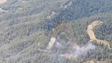 Γούβες Ιστιαίας: Ισχυρές δυνάμεις της πυροσβεστικής προσπαθούν