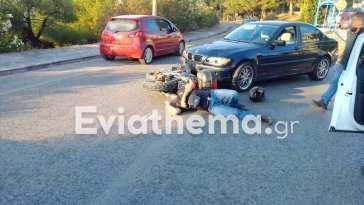 Σοβαρό τροχαίο ατύχημα στη Χαλκίδα