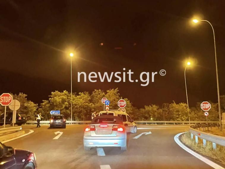 κλειστή η εθνική οδός