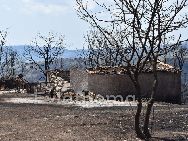 Βόρεια Εύβοια: Εικόνες θρίλερ από σπίτια