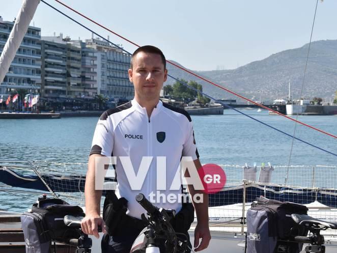 Αστυνομικοί ποδηλάτες Χαλκίδας