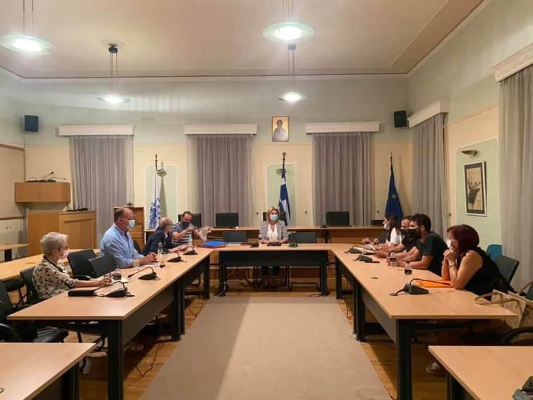 Δήμος Χαλκιδέων: Συνάντηση Έλενας Βάκα