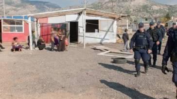 Επιχείρηση της Αστυνομίας στο καταυλισμό Ρομά