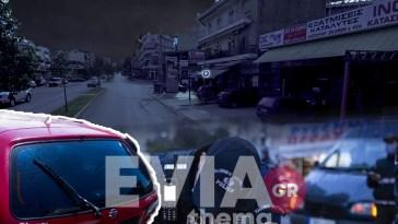 Εύβοια: Μεθυσμένος οδηγός πήρε σβάρνα τα πεζοδρόμιο