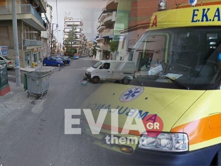 Χαλκίδα: Σοβαρό τροχαίο με παράσυρση πεζού