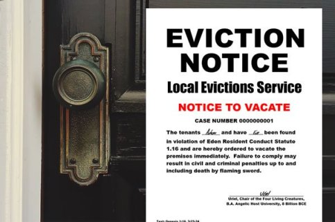 Eviction Notice San Antonio