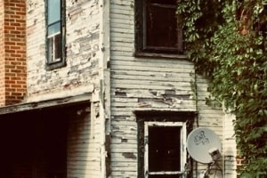 house with lead paint