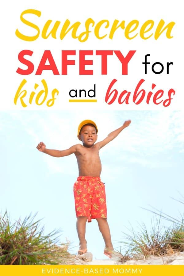 sunscreen safety for kids
