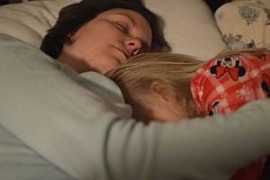 toddler nursing to sleep