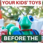 Holiday toy declutter