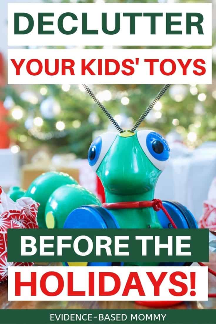 Christmas toy declutter