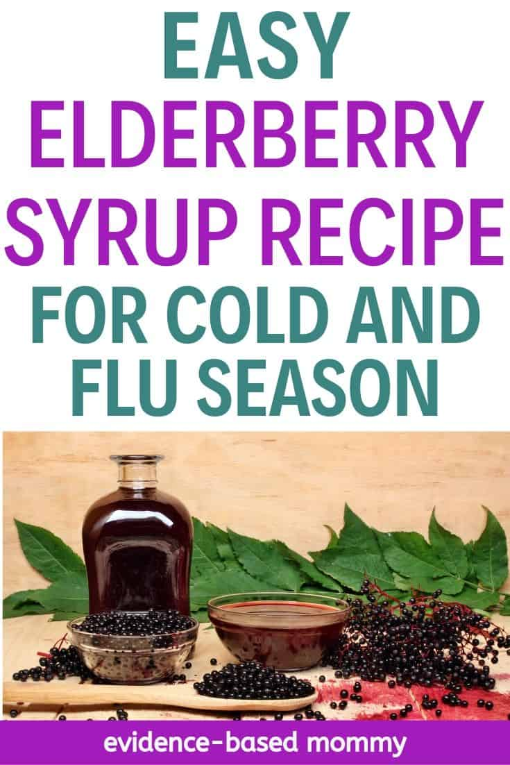 elderberry syrup recipe cold and flu