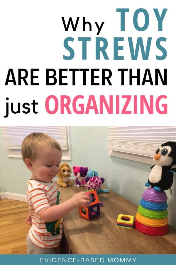 toy organization and toy strews
