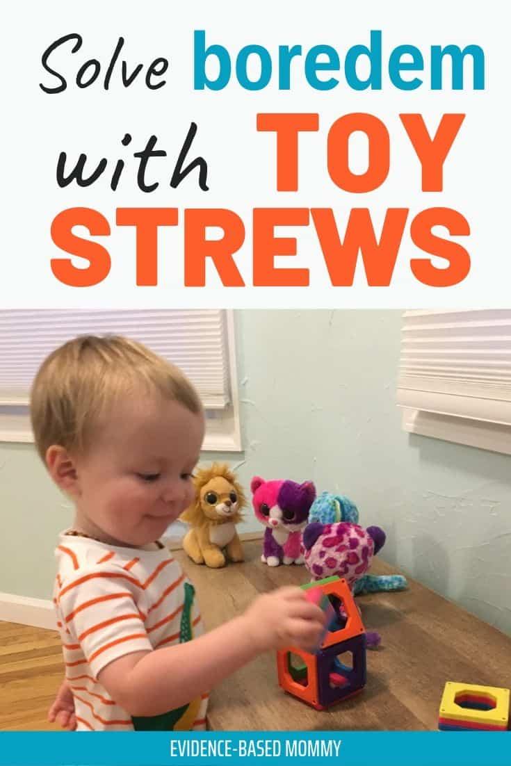 toy strews for boredom