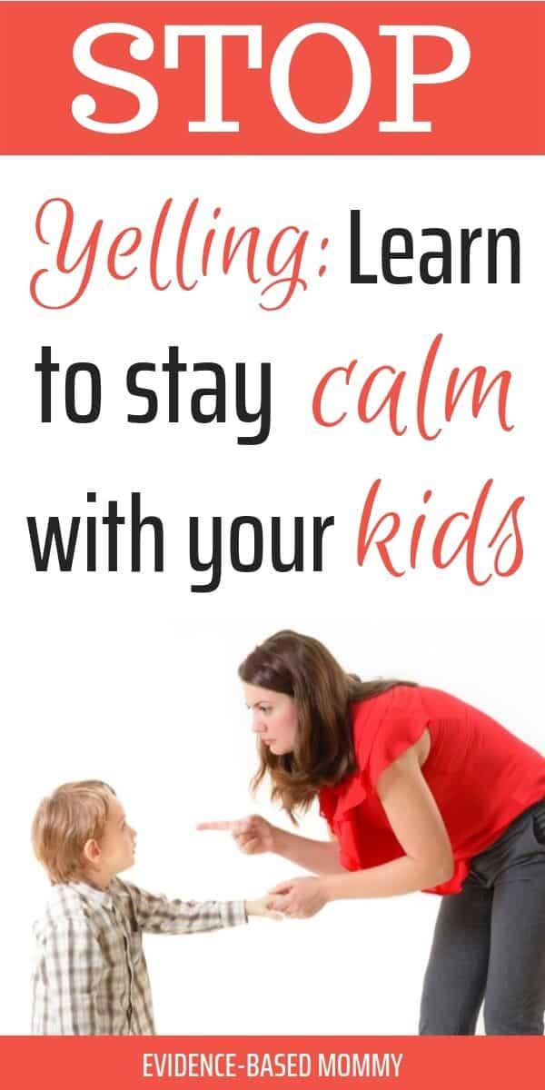 become a calmer mom