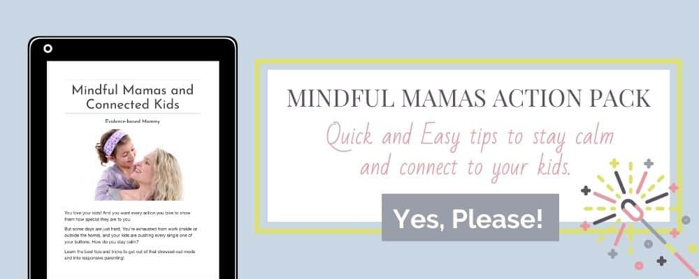 mindful mamas connected kids mock-up