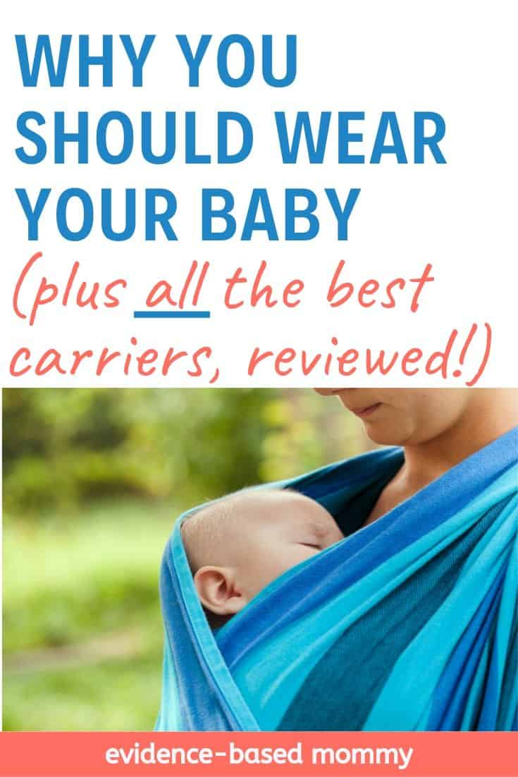 baby wearing benefits