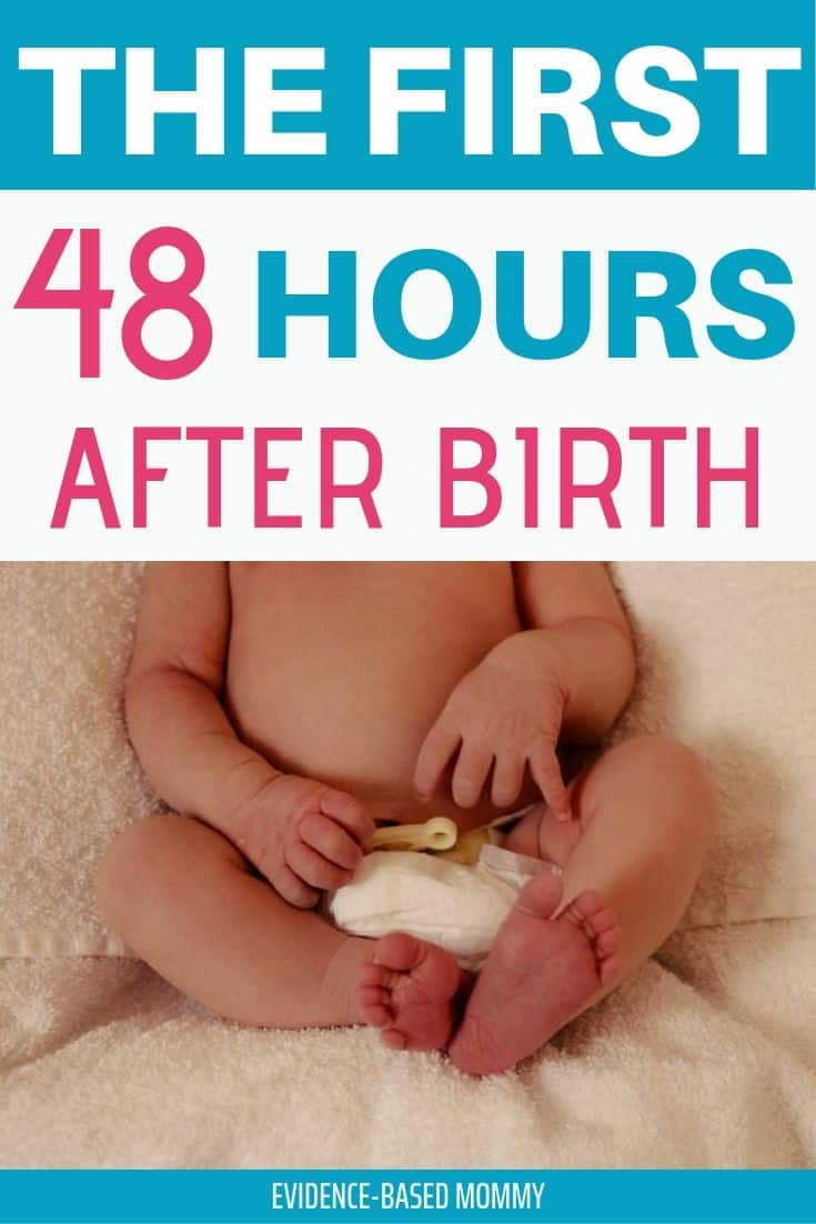 48 hours after birth