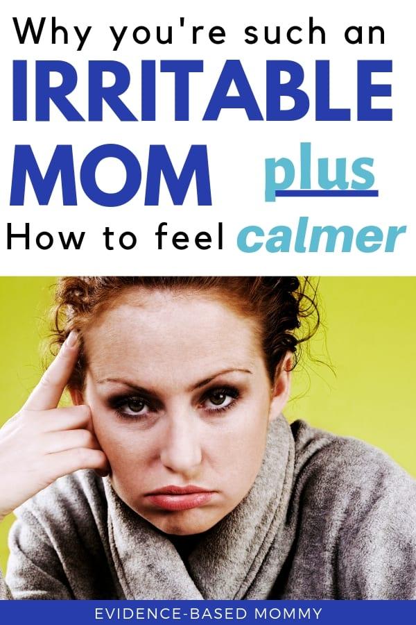 irritable mom