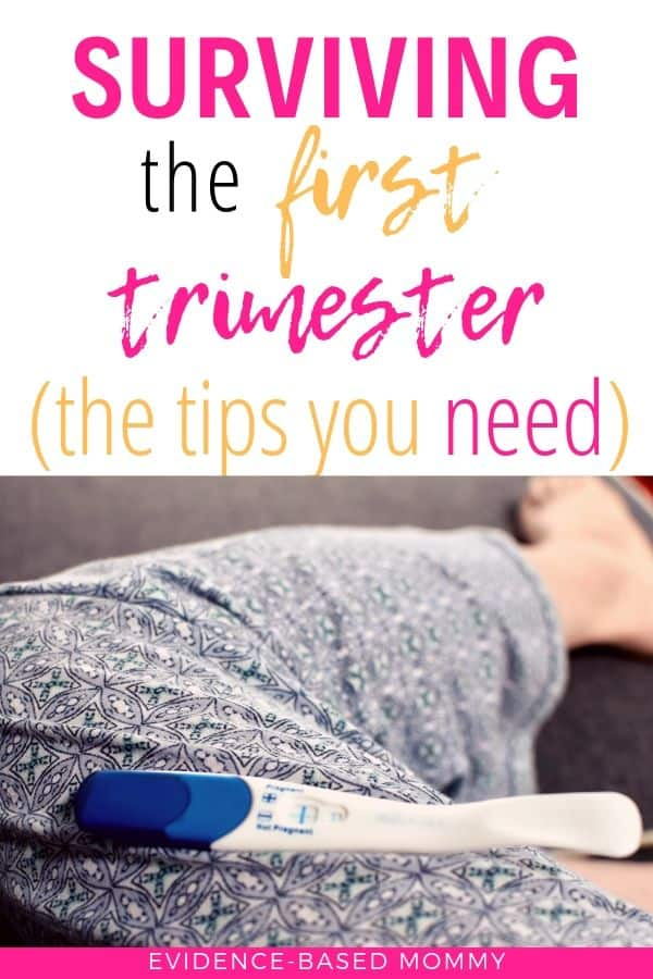 Tips to survive the first trimester