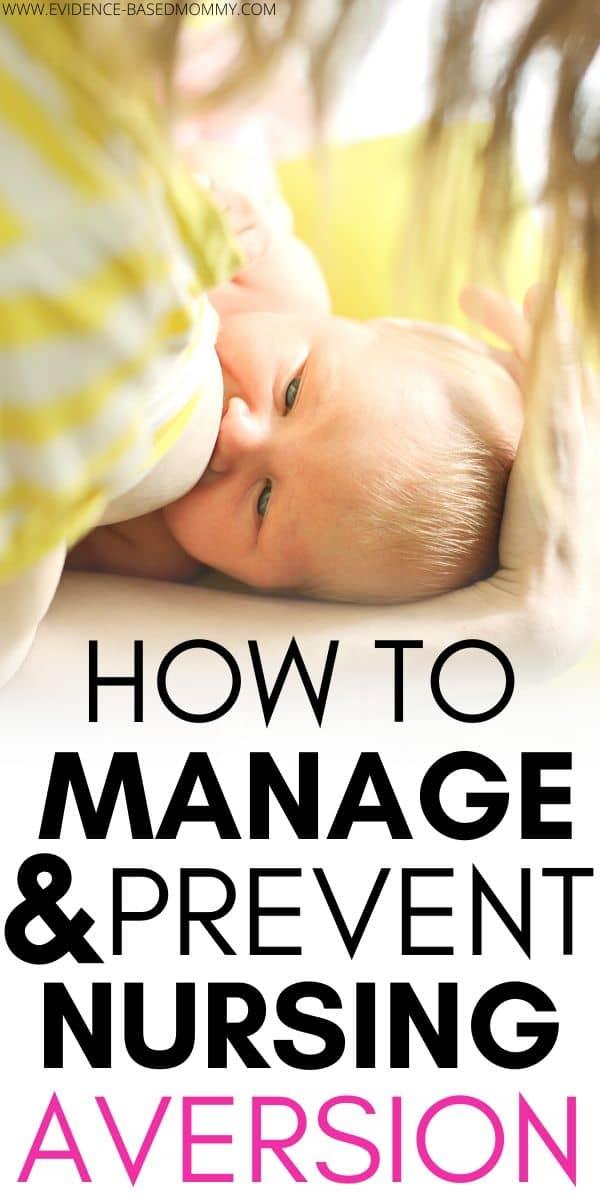 managing nursing aversion