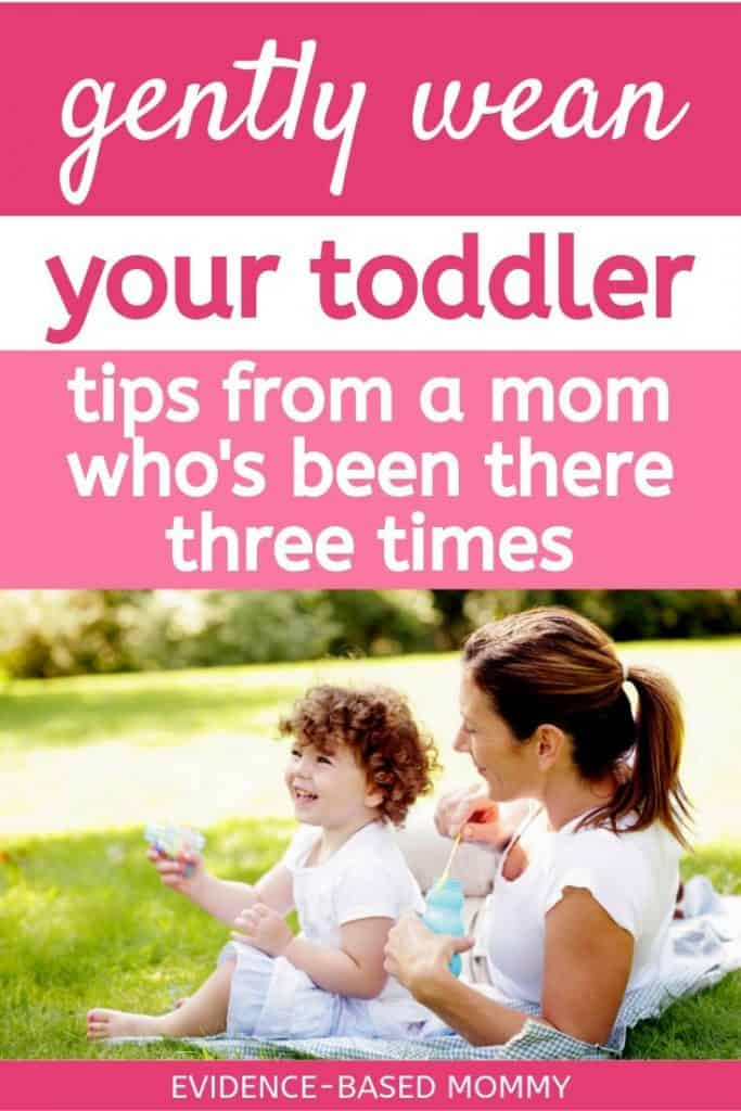 How to wean a toddler or wean a preschooler